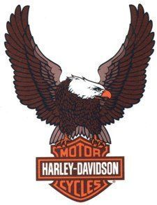 Harley Davidson Eagle Logos (5)