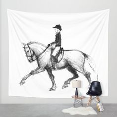 Buy Lusitano Wall Tapestry by Paper Horses. Worldwide shipping available at Society6.com. Just one of millions of high quality products available.