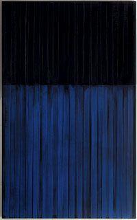 Pierre Soulages Peinture 222x137 cm 3 février 1990