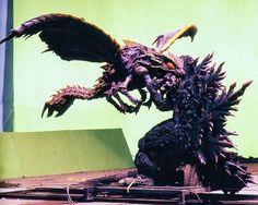 Godzilla VS Megaguirus, behind the scenes.