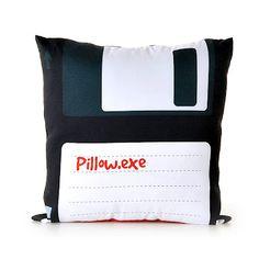 Decoração Criativa...TECHo pillow! #pillow #tech