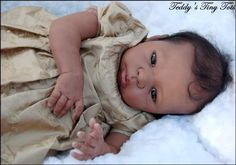 Reborning NEW AA African American Reborn Doll by PansyPieBoutique, $14.00
