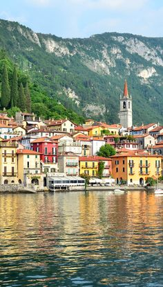 The picturesque Lake Side Village of Varenna on Lake Como, Italy