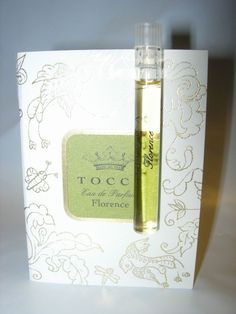 WOMENS NEW TOCCA FLORENCE Perfume 1.5 ML SAMPLE (TWO)   #TOCCA