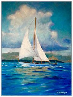 71 Best Boat painting images in 2019 | Paisajes, Pencil drawings