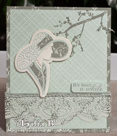 Tattered Lace Dies: It's been a white by Lydia Boode