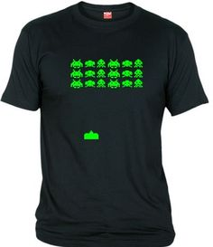 Gamer Shirt, Geek Shirts, Funny Shirts, T Shirt Designs, T Shart, Men Accesories, Fathers Day Shirts, Cool Tees, Space Invaders