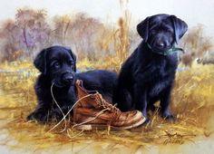 James Killen That's My Puppy-Black Lab