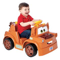 "Power Wheels Fisher-Price Ride On - Disney Pixar Cars 2 - Lil Mater - Power Wheels - Toys ""R"" Us"
