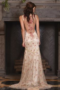 The Maple gown, from Claire Pettibone's 'The Four Seasons' bridal couture collection for 2017.