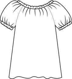 Adult-size Peasant Blouse Pattern Drafting Tutorial