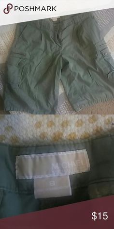 Michael Kors size 8 green khaki shorts Michael Kors size 8 green khaki shorts Michael Kors Shorts Cargos