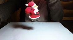 Adorno para el árbol de Navidad de Papá Noel | Aprender manualidades es facilisimo.com
