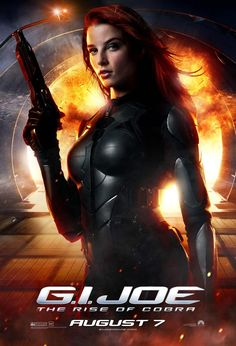 Rachel Nichols : G.I. Joe ( Scarlet )