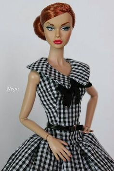 Lv the check look Barbie Top, Barbie Dolls, Poppy Doll, Poppy Parker, Realistic Dolls, Chinese Clothing, Vintage Barbie, Barbie Clothes, Absolutely Stunning