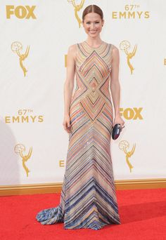 Ellie Kemper aux Emmy Awards 2015  © Abaca