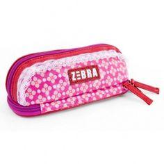 Deze Zebra Trends Pink Flower Etui vind je op www.liefzebraatje.nl