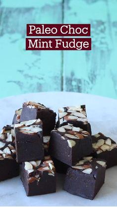 Fun Baking Recipes, Fudge Recipes, Candy Recipes, Healthy Baking, Chocolate Recipes, Paleo Recipes, Sweet Recipes, Cooking Recipes, Paleo Dessert