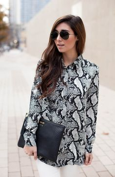 GiGi New York | The Darling Detail Fashion Blog | Black Uber Clutch