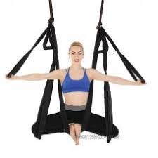 Yoga Stretch Belt Women Fitness Exerciser Rope Extend Strap For Aerial Yoga Hammock Yoga Belts Workout Resistance Bands 1.1m Sale Price Yoga Belts Yoga