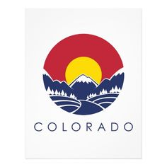 Colorado flag with mountains--for wall in game/bike room Colorado State Flag, Colorado Mountains, Rocky Mountains, Living In Colorado, Colorado Homes, Colorado Springs, Colorado Tattoo, D Mark, Filipino Tattoos