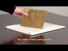 Embossing and Debossing with Silhouette Curio - YouTube