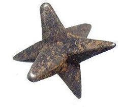 Caltrops were used to disable cavalry horses. They were often strewn on roads and battlefields where they would become lodged in a horses' hooves, rendering him lame.