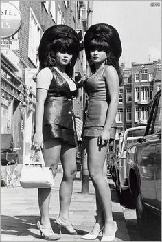 Beehive Bombshells in Amsterdam in the 1960s