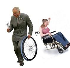 Dief zet slachtoffers op het verkeerde been... eh... wiel!