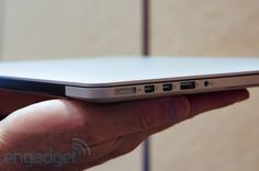 Apple nextgeneration MacBook Pro with Retina display handson at WWDC 2012