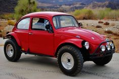 I normally hate all things VW, but I like this. '73 Baja Bug