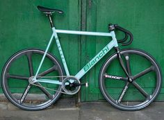 Bianchi Track Bike
