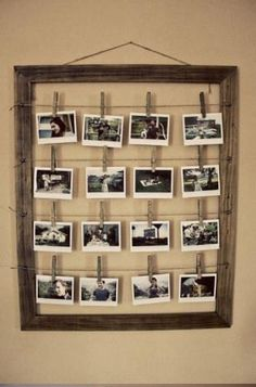 Old rustic picture frame
