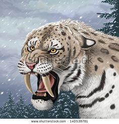 saber tooth tiger - Google zoeken