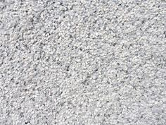 White exposed aggregate driveway