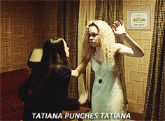 Find out about the many faces of Tatiana - Orphan Black