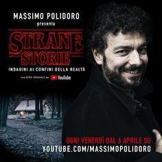 """""""Strane Storie"""": a caccia di misteri nella mia serie su YouTube dal 6 aprile! Guarda il trailer:"""