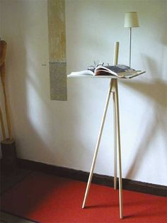 Stehpult Der kleine Lehner Interior Inspiration, Tiny House, Furniture Design, Desk, Lamps, Bench, Chairs, Handmade, Home Decor