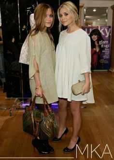 Mary-Kate and Ashley Olsen. I have loved these two ever since I was little!