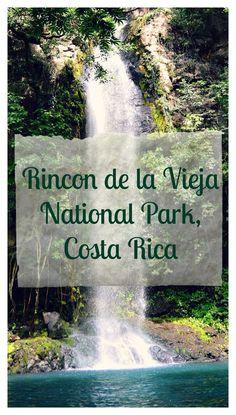 Hiking in Rincon de la Vieja National Park, Guanacaste, Costa Rica