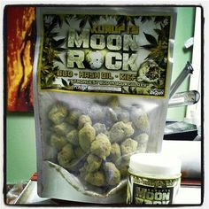 """Lots of rappers these days have their own signature strains of weed, but of course Kurupt, the Cali O.G. that he is, had to one-up everybody with his new """"MoonRock"""" product. As seen on his Instagram, MoonRocks are marijuana buds drenched in hash oil and then coated with some potent kief (all of which is also detailed at the start of this video)."""
