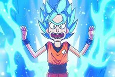 Rick and Morty. Dbz