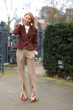 Chelsea Girls: London Street Style/ Those pants!!!