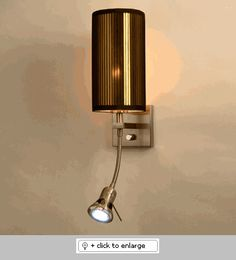 Lombardia Black Gold Chelsea Wall Sconce  Item# LombardiaBlackGoldChelsea  Regular price: $300.00  Sale price: $255.00