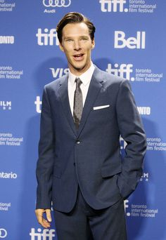 Benedict Cumberbatch Toronto International Film Festival 2013 press conference for The Fifth Estate