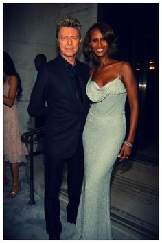 2005 CFDA Fashion Awards - Iman & David Bowie can truly do no wrong...gorgeous couple!