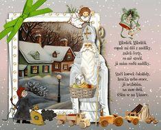 vanoce_prani_k_mikulasi Owl Name Tags, Christmas Pictures, Winter Christmas, Fictional Characters, Xmas Pics, Christmas Images, Fantasy Characters
