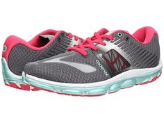 ... Women Neon Pink Coral 2013 Running Shoes. See More. $120 4 mm drop Brooks  PureCadence 4 Urban Grey/Raspberry/Beach Glass - Zappos