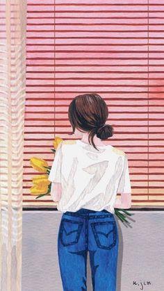 Disney art drawings sketches fashion illustrations 23 Trendy… – World of Flowers Girly Drawings, Art Drawings Sketches, Cover Wattpad, Cute Girl Wallpaper, Digital Art Girl, Cartoon Art, Cartoon Painting, Painting Art, Paintings