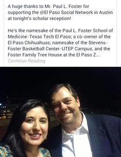 Paul Foster New Restaurant El Paso